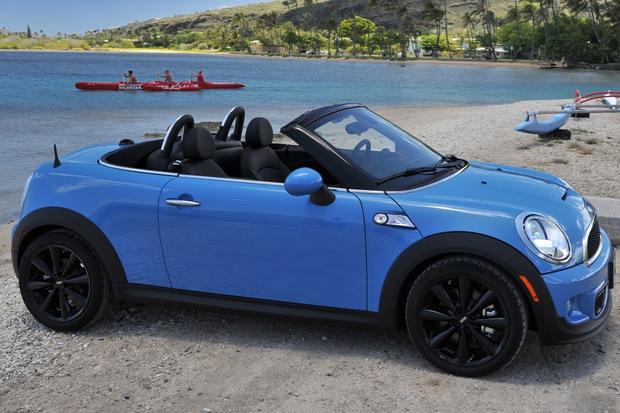 2015 mini cooper roadster new car review autotrader. Black Bedroom Furniture Sets. Home Design Ideas