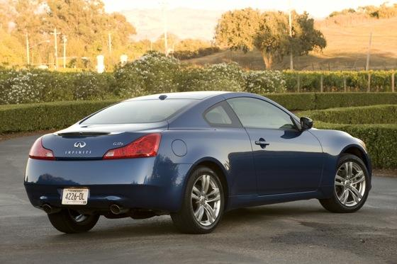 2008 2011 infiniti g37 coupe used car review autotrader. Black Bedroom Furniture Sets. Home Design Ideas