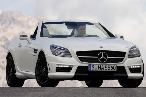 2012 Mercedes-Benz SLK55 AMG: First Drive featured image large thumb0