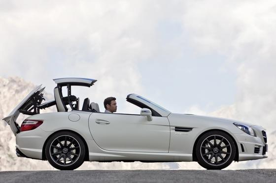 2012 Mercedes-Benz SLK55 AMG: First Drive featured image large thumb2