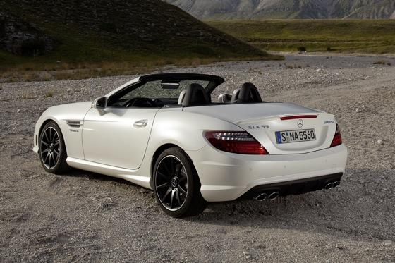 2012 Mercedes-Benz SLK55 AMG: First Drive featured image large thumb5