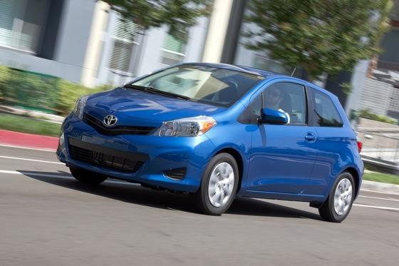 2012 Toyota Yaris SE: Real-World Review featured image large thumb0