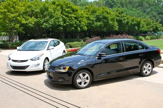 Jetta TDI Test: VW Jetta TDI vs. Hyundai Elantra Limited featured image large thumb1
