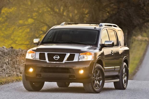 Nissan Armada Towing Capacity >> 2014 Nissan Armada New Car Review Autotrader