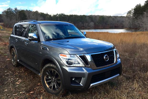 2017 Nissan Armada: Touchscreen and Off-Road