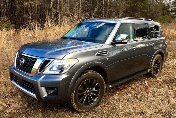 2017 Nissan Armada: Fuel Economy, Styling and the Trailer Hitch featured image large thumb1