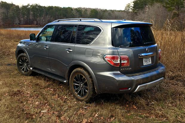 2017 Nissan Armada: Fuel Economy, Styling and the Trailer Hitch featured image large thumb2