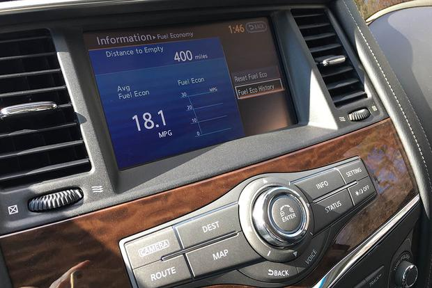 2017 Nissan Armada: Touchscreen and Off-Road featured image large thumb5