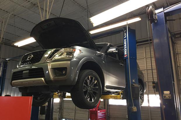 2017 Nissan Armada: 5,000-Mile Service - Autotrader