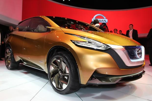 Nissan resonance Concept: Detroit Auto Show