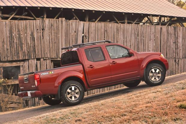 2013 Nissan Frontier: New Car Review featured image large thumb1