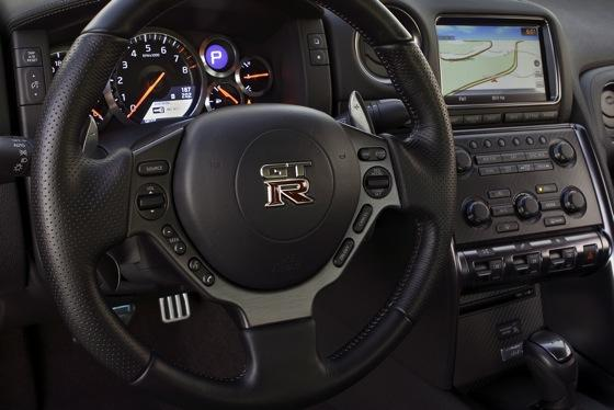 2012 Nissan GT-R: New Car Review featured image large thumb14