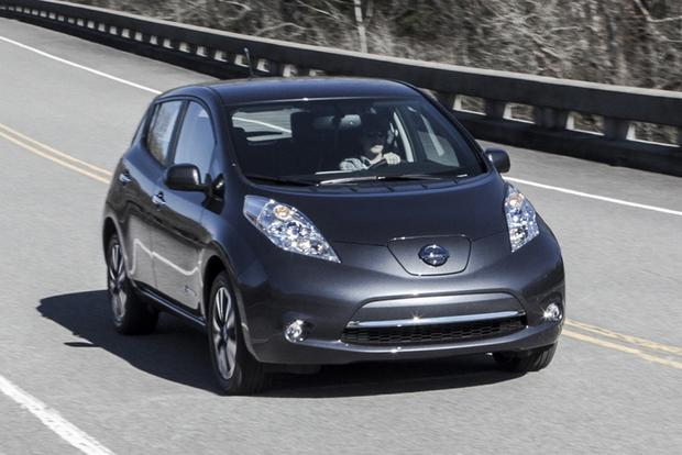 2013 Nissan Leaf vs. 2013 Ford Focus Electric featured image large thumb6