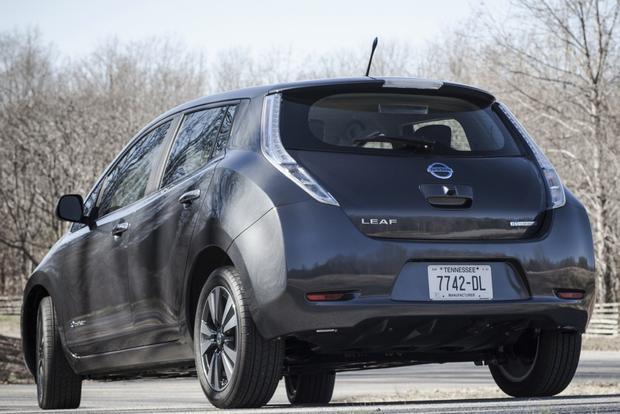 2013 Nissan Leaf Sedan Lease Lease A Nissan Leaf For