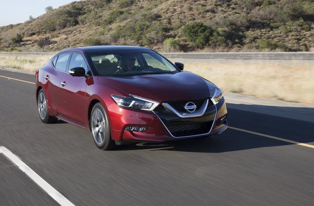 2018 Nissan Maxima: New Car Review featured image large thumb1