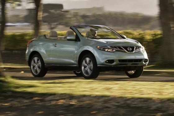 2012 Nissan Murano CrossCabriolet: New Car Review featured image large thumb1