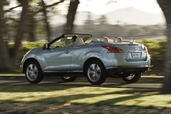 2012 Nissan Murano CrossCabriolet: New Car Review featured image large thumb2