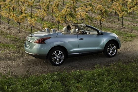 2012 Nissan Murano CrossCabriolet: New Car Review featured image large thumb3