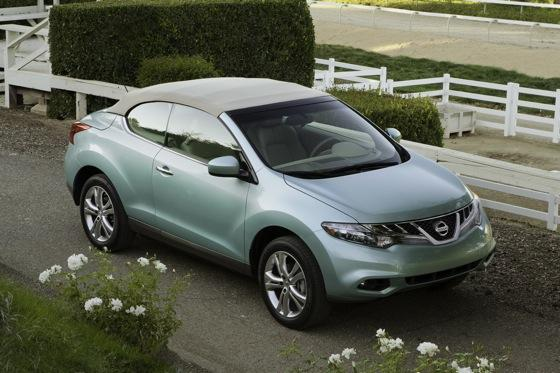 2012 Nissan Murano CrossCabriolet: New Car Review featured image large thumb4