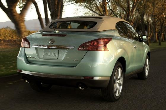 2012 Nissan Murano CrossCabriolet: New Car Review featured image large thumb6