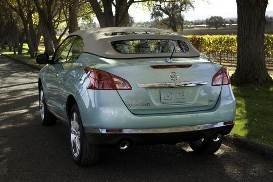 2012 Nissan Murano CrossCabriolet: New Car Review featured image large thumb7