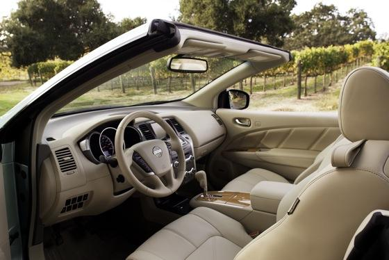 2012 Nissan Murano CrossCabriolet: New Car Review featured image large thumb12