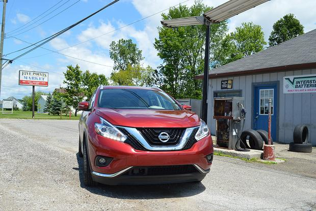 2015 Nissan Murano: Safe Travels
