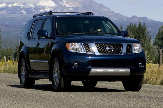 2012 nissan pathfinder new car review autotrader. Black Bedroom Furniture Sets. Home Design Ideas