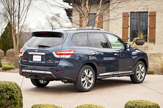 2014 nissan pathfinder new car review autotrader. Black Bedroom Furniture Sets. Home Design Ideas
