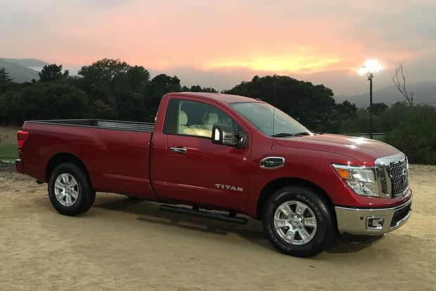 2017 Nissan Titan Single Cab Officially Unveiled