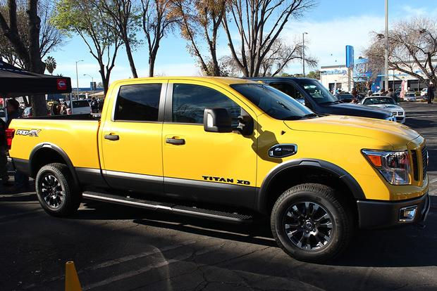 Awesome 2016 Nissan Titan XD First Look Featured Image Large Thumb7
