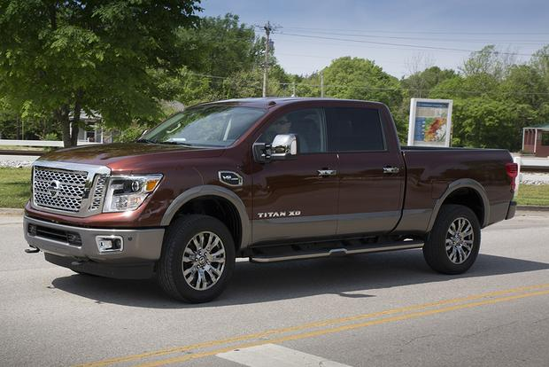 2018 F150 Diesel Price >> 2018 Nissan Titan XD: New Car Review - Autotrader