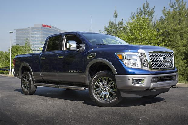 2018 Nissan Titan Xd New Car Review Autotrader