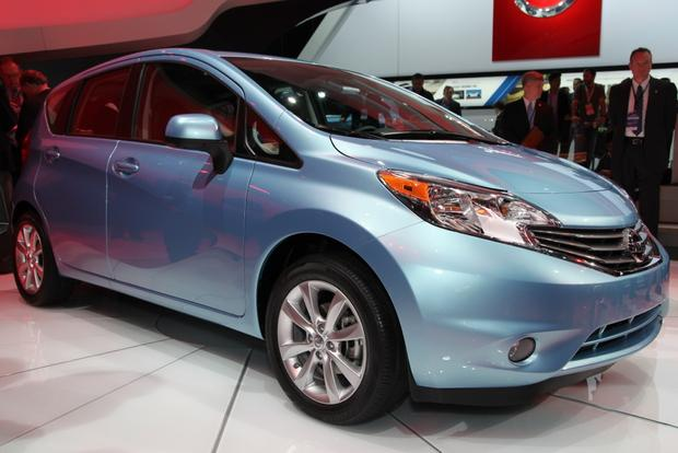 2014 Nissan Versa Note, Leaf, and Clues to a New Murano: Detroit Auto Show
