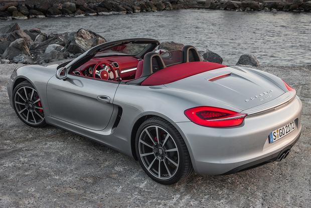 2015 porsche boxster new car review autotrader. Black Bedroom Furniture Sets. Home Design Ideas