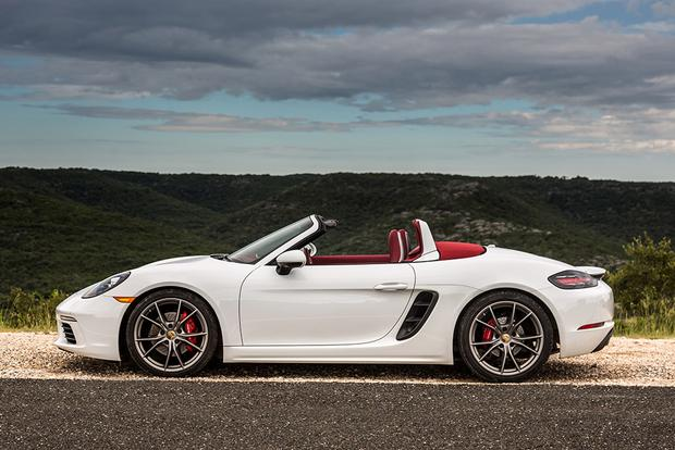 2017 porsche 718 boxster new car review autotrader. Black Bedroom Furniture Sets. Home Design Ideas