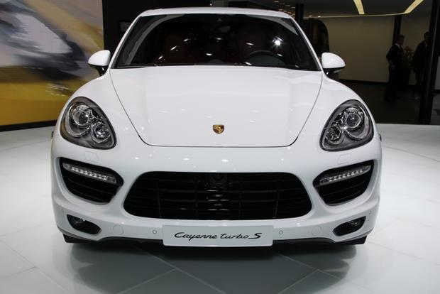 2014 porsche cayenne turbo s detroit auto show autotrader. Black Bedroom Furniture Sets. Home Design Ideas