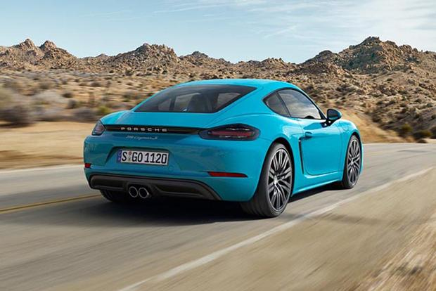 2018 Porsche 718 Cayman New Car Review Autotrader