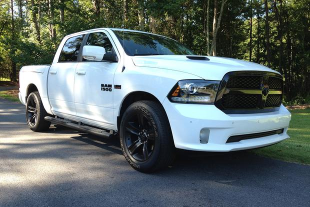 ram 1500 night edition real world review autotrader. Black Bedroom Furniture Sets. Home Design Ideas