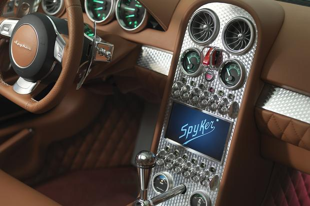 Spyker V6 Venator Spyder Concept Debuts in Pebble Beach featured image large thumb4