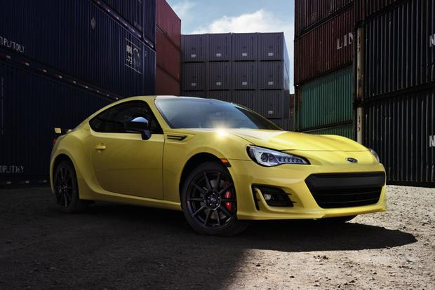 2017 Subaru BRZ: New Car Review featured image large thumb1