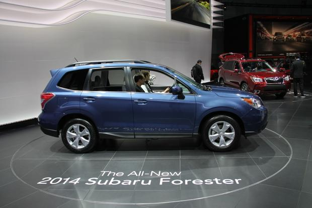 2014 Subaru Forester: LA Auto Show featured image large thumb2