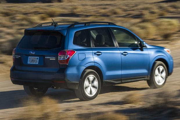 2015 Subaru Forester vs. 2015 Nissan Rogue: Which Is Better? featured image large thumb3
