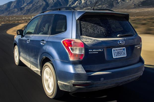 2015 Subaru Forester vs. 2015 Nissan Rogue: Which Is Better? featured image large thumb9