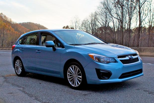 2012 Subaru Impreza: North Carolina Mountains