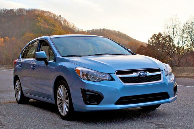 2012 Subaru Impreza: Growing Pains featured image large thumb2