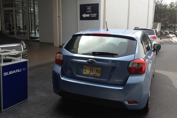 2012 Subaru Impreza: Expensive 15,000-mile Service featured image large thumb1