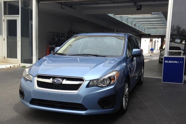 2012 Subaru Impreza: Expensive 15,000-mile Service featured image large thumb0