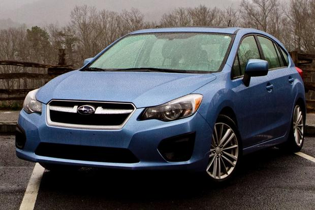 2012 Subaru Impreza: In the Rain