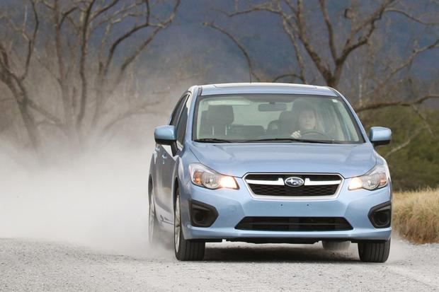 2012 Subaru Impreza: In the Rain featured image large thumb1